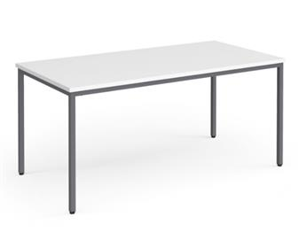 Multi-Purpose Table - Graphite Frame - Semi-Circular thumbnail