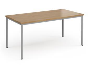 Multi-Purpose Table - Silver Frame - Trapezoidal thumbnail