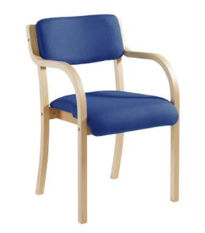 Value Woodframe Chair With Arms thumbnail