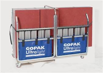 Large Storage Trolley (Stores 10 2m x 1m Decks & Risers Or 20 1m x 1m Decks & Risers) thumbnail