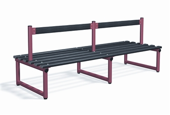 Double Sided Bench With Back Rest thumbnail