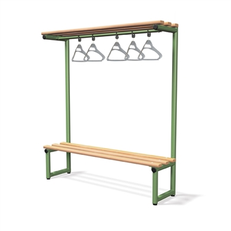 Single Sided Bench With Overhead Hanging thumbnail