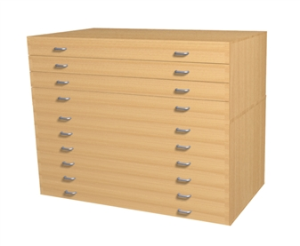 A1 10 Drawer Plans Chest  thumbnail