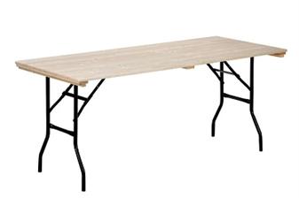Wooden Folding Tables Metal Legs