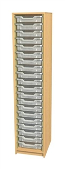 6ft High Open Tray Unit - 20 Trays thumbnail