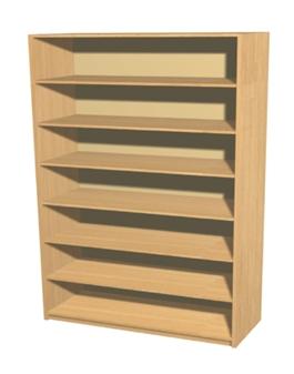 Economy Bookcase - 7 Shelves thumbnail