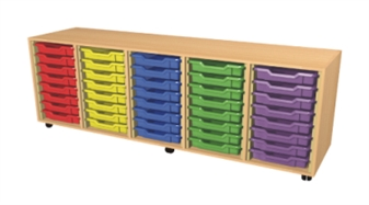 5 Bay Tray Storage Unit - 40 Trays thumbnail