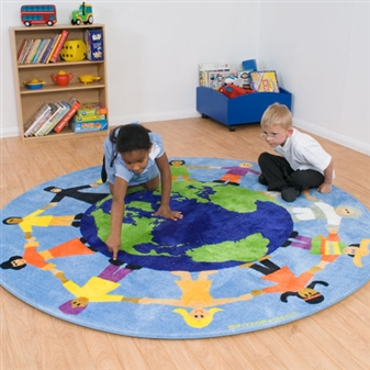 Primary World Multicultural Carpet thumbnail