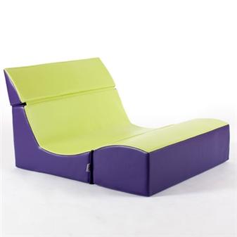 Double Seat Ergonomic Lounger thumbnail
