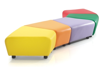 Zig Zag Junior Soft Seating thumbnail