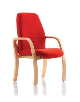 Ascot Wooden 4 Leg Chair thumbnail