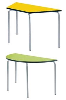 Equation Classroom Table - Trapezoidal thumbnail