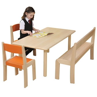 Beech Rectangular Table thumbnail