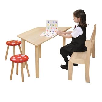 Beech Trapezoidal Table thumbnail
