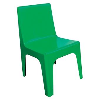 Kidz Plastic Chair - Green thumbnail