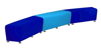 SINUOUS DOUBLE Junior Vinyl Soft Seating thumbnail