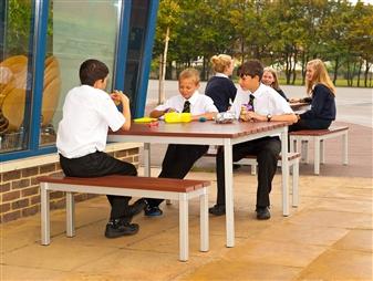 Enviro Outdoor Table + Benches thumbnail