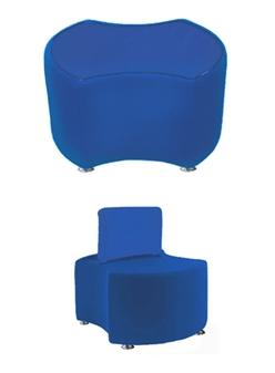 PK2 PACMAN 2 Bites Seat & PK2B PACMAN 2 Bites Seat + Backrest  thumbnail