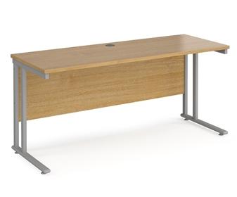 600mm Deep Desk - Oak thumbnail
