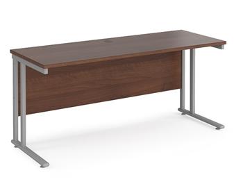 600mm Deep Desk - Walnut thumbnail