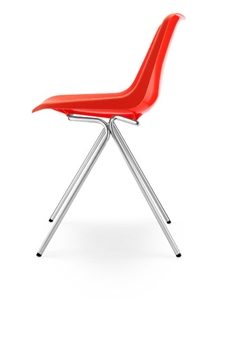 Hille Polyside Chair - Orange thumbnail