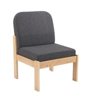 Woodframe Modular Reception Seat - No Arms thumbnail