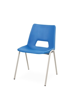 Poly Stacker Chair - Hi-Blue thumbnail