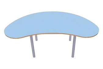 Kidney Bean Table Powder Blue thumbnail