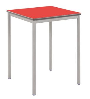 Fully Welded Square Stacking Classroom Tables thumbnail