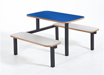 Bench 4 Seater 1 Access With Blue Top Beech Seats thumbnail