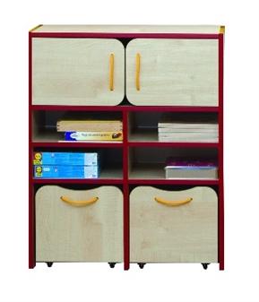 Tall Storage Red Edging thumbnail