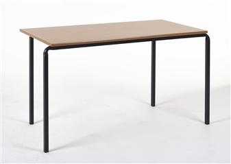 1100 x 550 Slide Stacking MDF Edge Table thumbnail