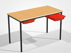 1100 x 550 Table With Drawers thumbnail
