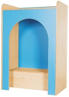 Reading Nook Shown In Powder Blue thumbnail