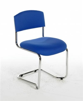 CS Vinyl Stacking Cantilever Reception / Meeting Chair thumbnail