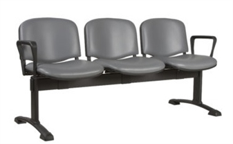 Ecton Beam Seating 3 seater Wtih Arms thumbnail