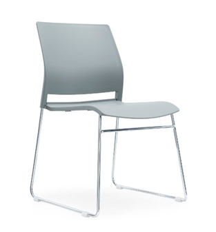 Verse A-Frame Stacking Chair GREY thumbnail