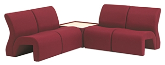 4000 Range Curved Reception Seating thumbnail