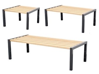 Double Sided Cloakroom Benches  thumbnail