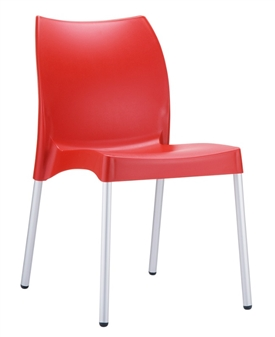 Midas Side Chair - Red thumbnail