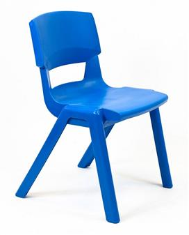 Postura Plus One-Piece Classroom Chair - Ink Blue thumbnail