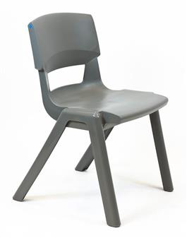 Postura Plus One-Piece Classroom Chair - Forest Green thumbnail