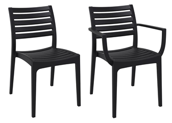 Marco Side Chairs - Black thumbnail