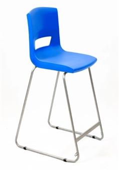 Postura Plus High Chair - Ink Blue thumbnail