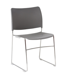 Seba Side Chair - Grey thumbnail