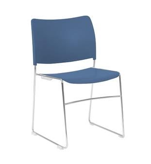 Seba Side Chair - Blue thumbnail