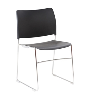 Seba Side Chair - Black thumbnail