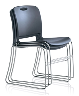 Noah Stacking Chair - Stacked thumbnail