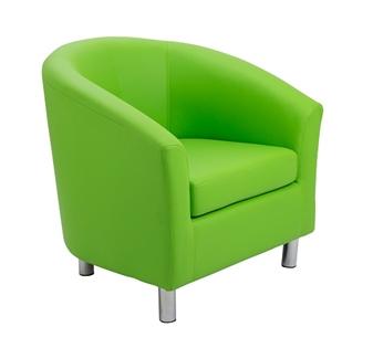 Nursery Tub Chair - Lime  thumbnail