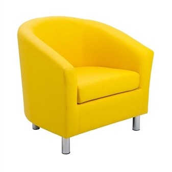Junior Tub Chair - Yellow thumbnail
